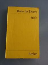 Plinius der Jüngere - Briefe - Reclam Schullektüre