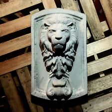 Gate Plaque Lions Head Molds 2pc