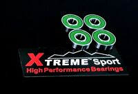 4 PACK 608 RS ABEC 11 Xtreme SWISS HIGH PERFORMANCE SCOOTER SKATEBOARD BEARINGS