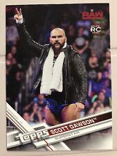 2017 Topps WWE Then Now Forever Scott Dawson Roster Update Walmart #R-27 Rookie