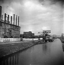 NEUVILLE SUR ESCAUT c. 1950 - Péniche Canal  Nord - Négatif 6 x 6 - N6 ND22