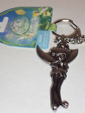 Tinker Bell Hands on Waist Pewter Key Chain Keychain Disney New