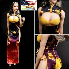 """1/6 Cheongsam Lingerie Sexy Clothes For 12"""" PHICEN Hot Toys Female Figure ❶USA❶"""