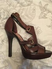 Brand New Without Box Faith Strappy Heels Leather Summer Heels
