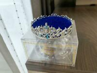 Disney Store Princess Cinderella Jewelry Tray Tiara Accessory Case celebration