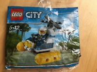 Lego  swamp police helicopter polybag 30311 City
