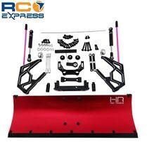 Hot Racing Axial SCX10 SCX10 II 2 Red Aluminum Snow Plow Blade SCX1213P02