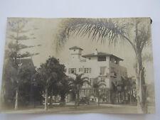 Antique 1928 RPPC The Palomar Hotel San Diego California Street View Postcard