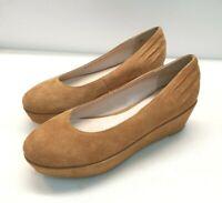 V0) BRONX Damen Schuhe Wedges Gr. 40 Wildleder Neu