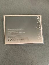 Mary Kay Beauty Blotters Oil-Absorbing 75 Tissues; New Sealed.