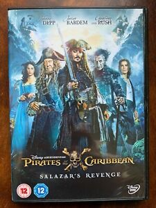 Pirates of the Caribbean Salazar's Revenge DVD 2017 5 Action Movie Sequel