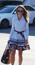 Señora vestido dress maje Rafina azul Blue eingearbeitet m -3 - nuevo New Celebrity