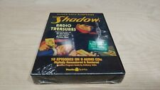 The Shadow :Classic Radio Treasures 18 Episodes on 9 CDs Suspense Sealed Torn