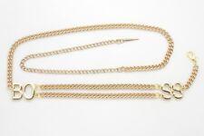 MetalChain Chain Belt Skinny Belts for Women for sale   eBay