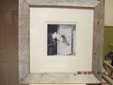 "Carol Rowan Original Graphite Etching ""GENE"" 2002 Framed"