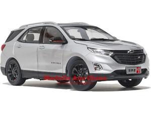 1:18 SAIC GM 2018 Chevrolet Equinox Silber Metallic (Silver M.) Händler Auflage
