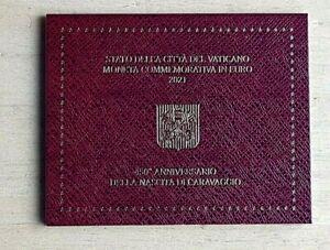2 EURO VATICAN Caravaggio en coffret 2021.TOP PRIX!!!