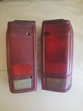 2-USED Ford Bronco II tail lights 1984-1990 fit