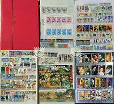 Worldwide MNH and Used Stamp Collection in 1 Album -All Different Many Full Sets