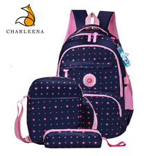 CHARLEENA Girls Boy School Bags Lightweight Backpacks Kids Bookbags