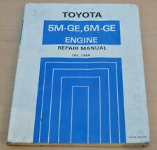 Toyota Celica Supra Cressida Crown Engine Motor 5M GE 6M GE Werkstatthandbuch