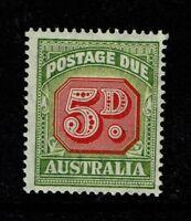 Australia SG# D124, Mint Lightly Hinged - S5127