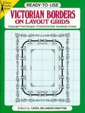 Ready-To-Use Victorian Borders on Layout Grids (Dover Clip-Art Series)