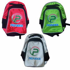 Pioneer Bag Back Pack for Field Hockey Stick & Accessorie,Color Red Green Silver