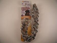 "Petmate 24"" Inch Comfort Choke Chain Collar Extra Heavy 110-200 lbs Grey"