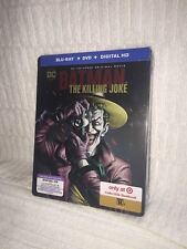 Batman: The Killing Joke SteelBook (Blu Ray + DVD + Digital HD)
