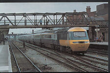 Railway Postcard - Inter City 125 Service Passing Through Doncaster A2744