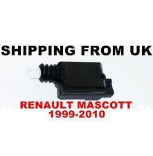 CENTRAL LOCKING MOTOR DOOR LOCK ACTUATOR for RENAULT MASCOTT 1999-2010 BRAND NEW