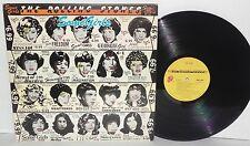 Rolling Stones Some Girls LP 1978 COC39108 Classic Rock Vinyl Original Faces