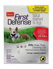 HARTZ First Defense FLEA+TICK Topical Treatment Drops FOR DOGS+PUPPIES 23-44 lbs