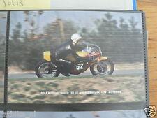 S0405-PHOTO-ROLF MINHOFF MAICO 125 CC HILVARENBEEK 1974 NO 62 MOTO GP