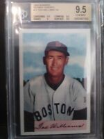 """1989 Bowman Reprint Insets TED WILLIAMS '54 CARD #11 GEM Mint """"9.5"""""""