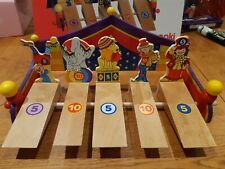 Goki Marble Game Circus 1-5 Players 3+ Years skill childrens fun marbles RARE !