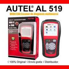 Autel AL519 OBD2 CAN Escaner de diagnosis multimarca OBDII ORIGINAL AUTEL ES