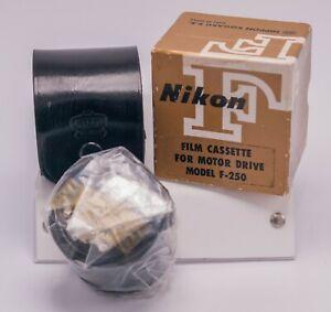 NOS - Nikon F SLR Camera F-250 35mm Bulk Film Motor Back Cassette