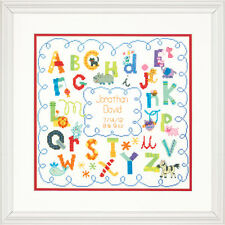 Dimensions Cross Stitch Kit - Alphabet Baby Birth Record
