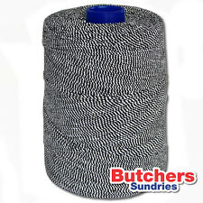 Butchers Sundries Black / White Elasticated String / Crafts / Butchers / Twine