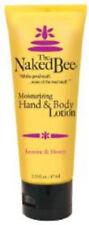 Jasmine & Honey Hand & Body Lotion, The Naked Bee, 2.25 oz tube