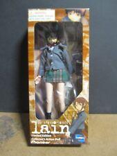 Serial Experiment Lain School Uniform Doll Figure Action NIB - Toynami