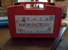Educational Insights Mathematic Factory Plastic Case COMPLETE!
