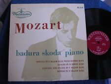 Paul Badura-Skoda/Mozart/DG Mono/Flat Edge/Red Label/Westminster WL 5154/MINT-