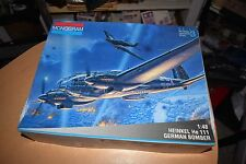 Monogram Model Kit 5509 Heinkel He 111 German Bomber NEW IN BOX