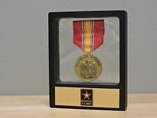 Floating Coin Display, US Army Star