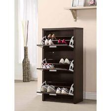 A-Accessories-Shoe Rack - Shoe Cabinet (Black) 900604