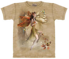 Fairy Forest Meadow Fantasy Hand Dyed Adult T-Shirt New Unworn