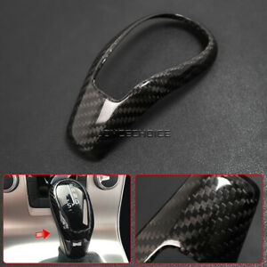 For Volvo XC60 V60 S60 S80L V40 2013 -17 Carbon Fiber Gear Shift Knob Head Cover